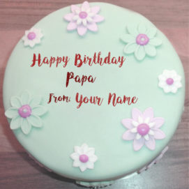 Papa Birthday Wishes Beautiful Cake With Name Pictures