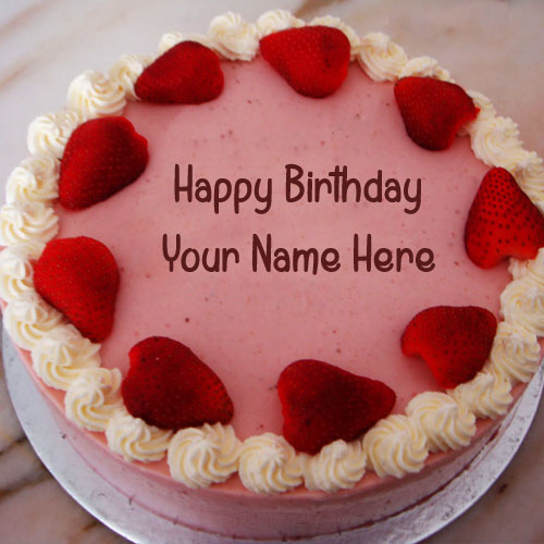 Husband Name Wishes Birthday Cake Pictures