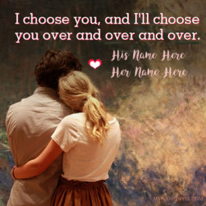 Write Couple Name Love Romantic Profile Pictures