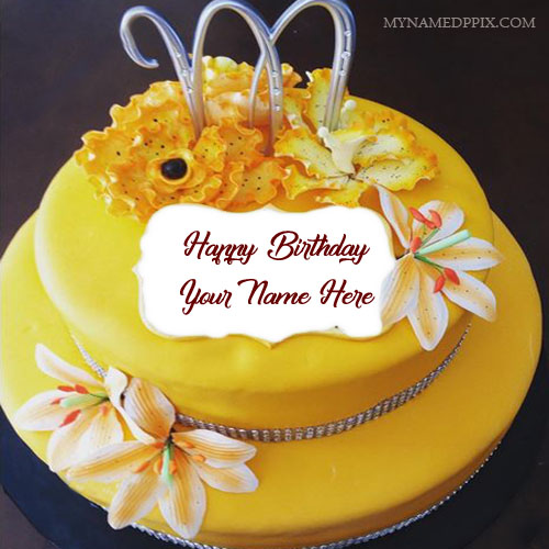 Write Name On Beautiful Birthday Cake For Sister Name