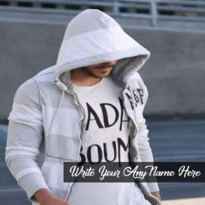 Write Name On Cool Stylish Boy Picture