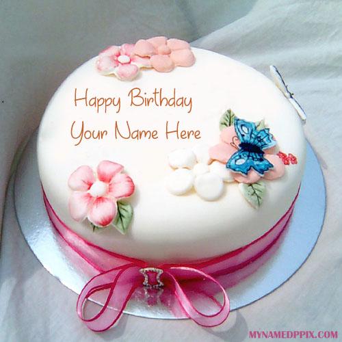 Birthday Wishes Beautiful Name Writing Cake My Name Pix Cards