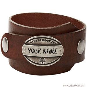 Stylish Leather Belt For Men Name Profile Image