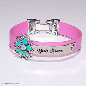 Beautiful Flowers Bracelet For Girl Name Profile Pix