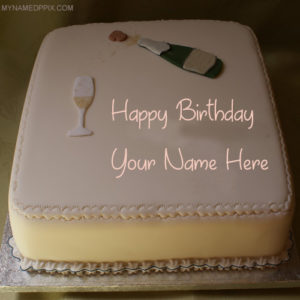 Friend Name Birthday Wishes Celebration Cake Image Edit