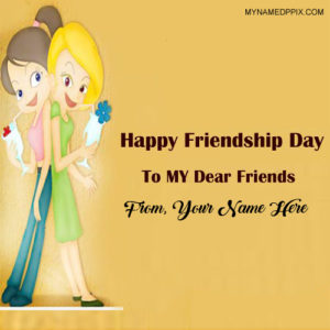 Friendship Day Name Wishes Cutest Girls Pictures