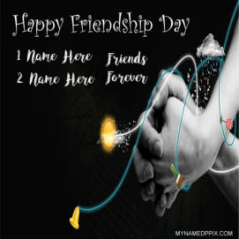 Latest Friendship Day Wishes Name Image Online Create