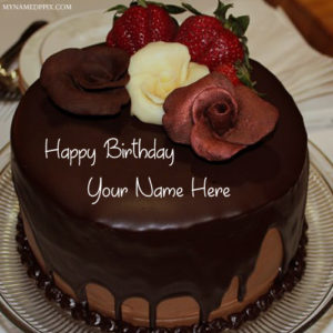 Special Name Wishes Happy Birthday Chocolate Cake Pics