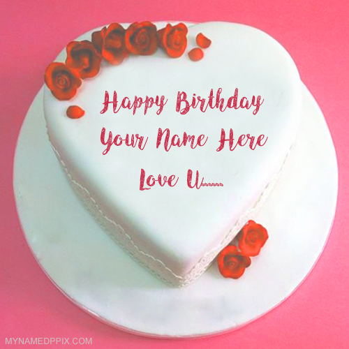 Write Name Lover Birthday Cake Love U Wishes Pics
