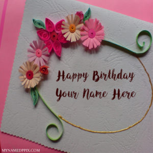 Birthday Wishes For Sister With Name Editing