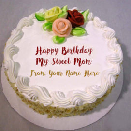 Mom Birthday Wishes Online Name Cake Pictures Edit Free