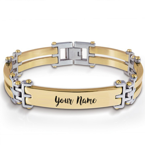 Stylish Hand Bracelet Custom Name Profile Set Pictures