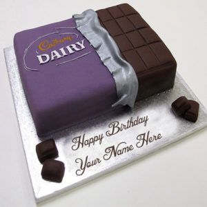 Birthday Wishes Dairy Milk Cake Name Write Profile Image