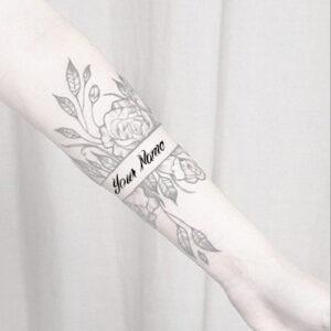 Girl Name Design Tattoo Beautiful Profile Set Pictures
