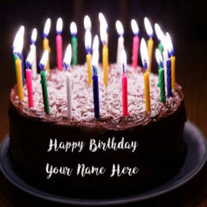 Happy Birthday Back Forest Cake Name Wishes Profile Pics