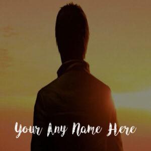 New Beautiful Sunset Boy Name Profile Set Image