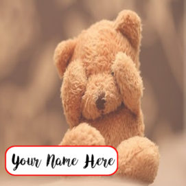 Sweet Teddy Name Set Profile Picture Online Edit