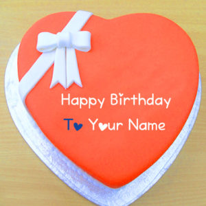Unique Happy Birthday Cake Name Wishes Pictures Send