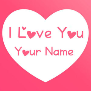 Write Name Love U Heart Pictures Profile Set Name Edit