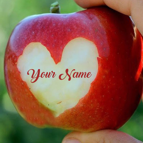 Cute Love Heart Apply Name Profile Pictures Set Online