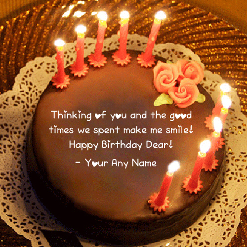 Friend Name Birthday Wishes Quotes Cake Pictures