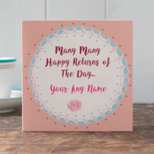 Birthday Greeting Card Write Name Wishes Picture Online Sent
