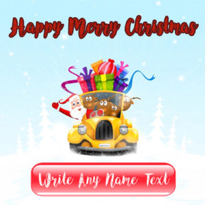 Happy Merry Christmas 2017 Best Name Wishes Pictures