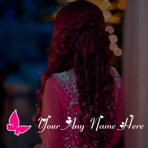 Awesome Butterfly Girl Profile Name Write Pictures Edit