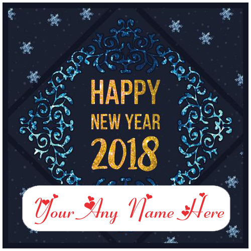 Happy new year with name card picture online edit photos m4hsunfo