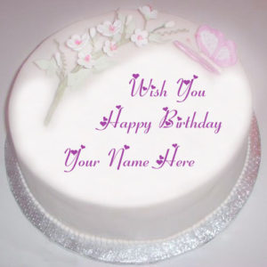 Happy Birthday Wishes With Name Cake Profile Image