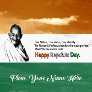 Online 26 January Indian Republic Day Name Wishes Pictures Edit