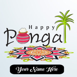 Special Happy Pongal Wishes Name Photo Sent Status Whatsapp