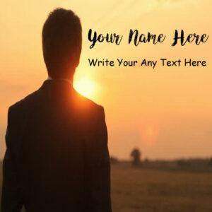 Write Name Attitude Boy Profile Status Set Whatsapp Image