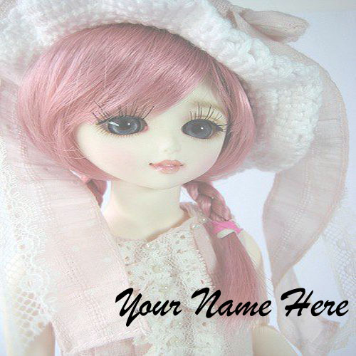 Write Name Cute Doll Whatsapp Profile Status Picture Edit Online