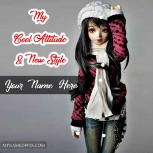 Cool Attitude New Stylish Barbie Doll Name Images Create