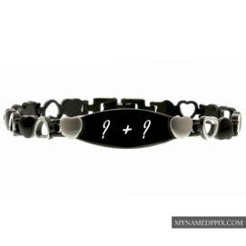 Couple Name Alphabet Letter Bracelet Profile Images