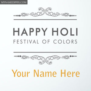 Festival Happy Holi Status Wallpapers Name Write Photos