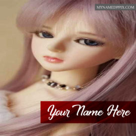 Photo Edit Barbie Doll Beautiful Name Facebook Profile Image