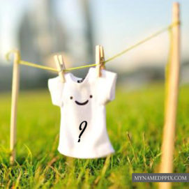 Smile T-Shirt Profile Write Name First Letter Pictures