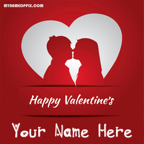 Write Name 2018 Happy Valentines Day Love Greeting Card Pictures