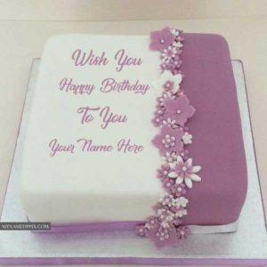 Write Name On Beautiful Birthday Cake With Name Photo Editor