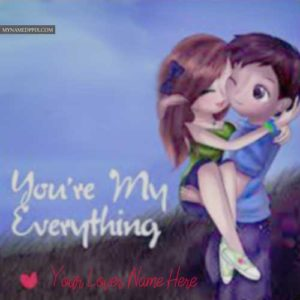 Write Name Romantic Couple Image Love Name Pictures Online Edit