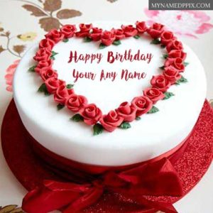 Awesome Birthday Cake Name Wishes Images Send Online Download