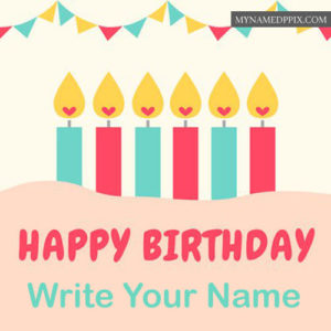 Happy Birthday Greeting Card Name Writing Pictures Send Online