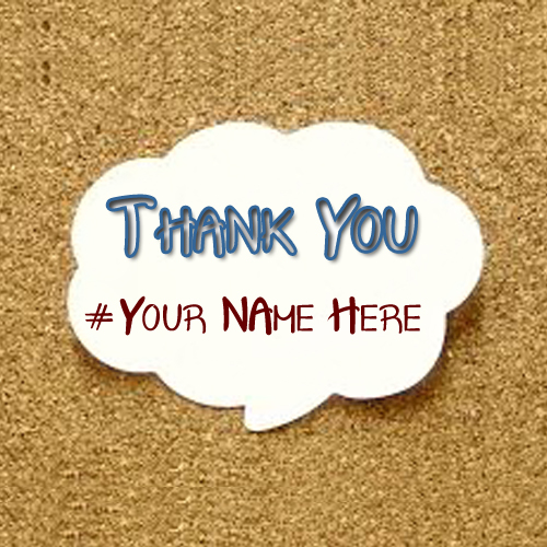 Thank U Beautiful Design Greeting Card Name Write Wishes Pictures