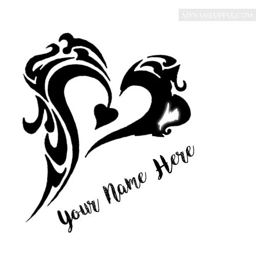 Write Name Design Heart Tattoo Photos Edit Online Download Free