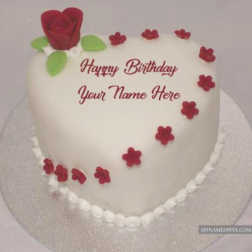 Birthday greeting cakes name write photo send online editor m4hsunfo