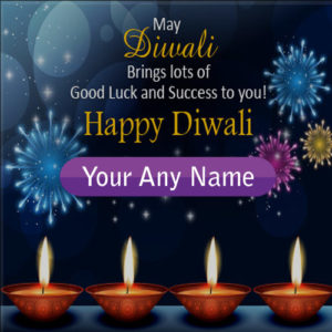 Write Name Happy Diwali Wishes Beautiful Greeting Cards Create Online