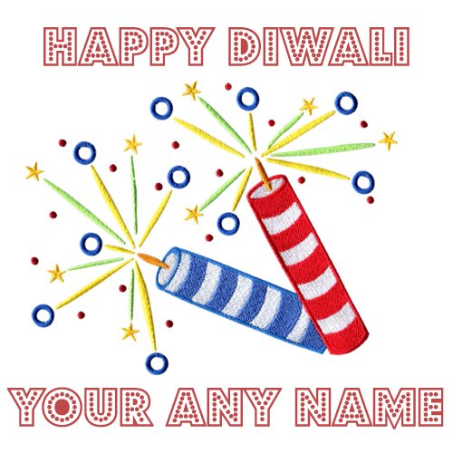 2018 Diwali Crackers Pathkha Name Write Wishes Photos Free