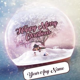 Merry Christmas Day Wishes Special Unique Name Write Photos